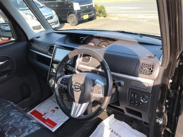 カスタムRS トップエディションSAIII ターボ車 両側電動スライドドア ナビ フルセグTV DVD再生 Bluetooth機能シートヒーター アイドリングストップ スマートキー(12枚目)
