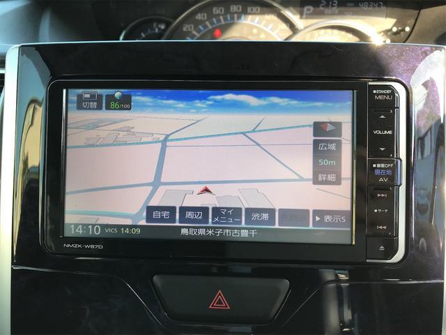 カスタムRS トップエディションSAIII ターボ車 両側電動スライドドア ナビ フルセグTV DVD再生 Bluetooth機能シートヒーター アイドリングストップ スマートキー(19枚目)
