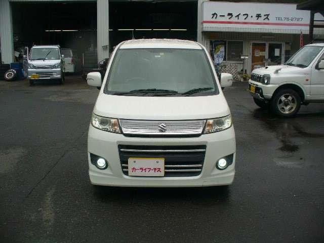 「スズキ」「ワゴンRスティングレー」「コンパクトカー」「鳥取県」の中古車12