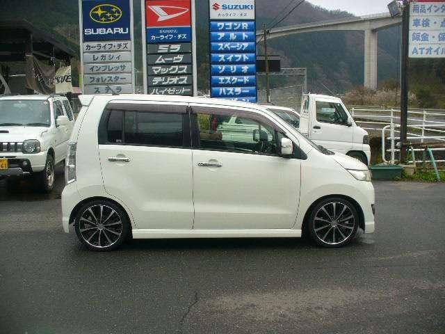 「スズキ」「ワゴンRスティングレー」「コンパクトカー」「鳥取県」の中古車14