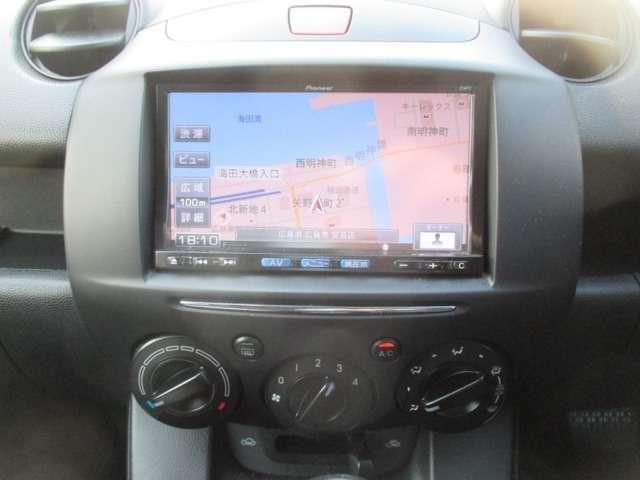 マツダ デミオ 1.3 13C-V スマートエディション ナビ ETC