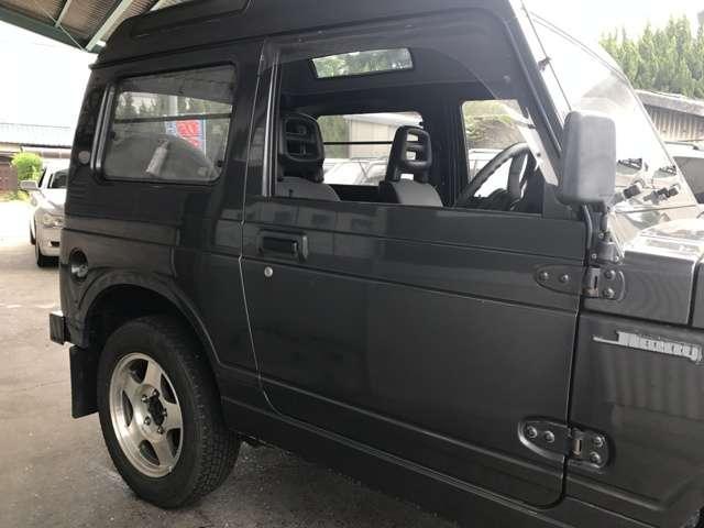 スズキ ジムニー EC パノラミックルーフ 4WD CD 5速ミッション