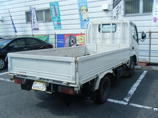 トラック 平ボディ 2t 5速マニュアル AC PS PW(4枚目)