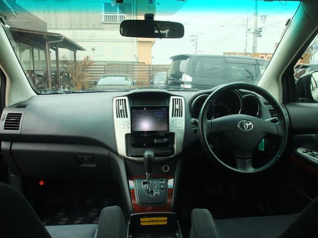 トヨタ ハリアー 240G サンルーフ HDDナビ