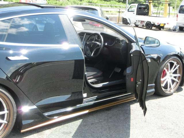 テスラ テスラ モデルS P85+ 弊社デモカー Work製21AW オリジナルエアロ