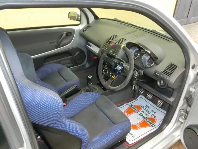フォルクスワーゲン VW ルポ GTI 6速 ビルシュタインショック・AW・マフラー 鑑定車