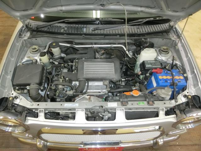ダイハツ ミラジーノ ジーノ ターボ 5速 社外マフラー・AW・CDデッキ