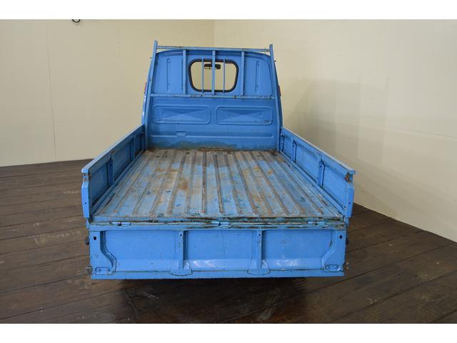 【荷台】軽トラックとしても、しっかり使って頂けます。