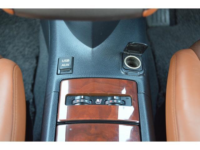 HS250h バージョンL 純正ナビ サンルーフ TV フロントカメラ ETC レザーシート シートヒーター/シートクーラー パワーシート シートメモリー クルーズコントロール スペアキー(18枚目)