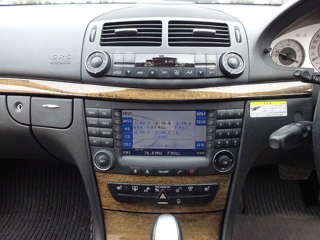 メルセデス・ベンツ M・ベンツ E350 アバンギャルド サンルーフ 黒革シート 純正アルミ