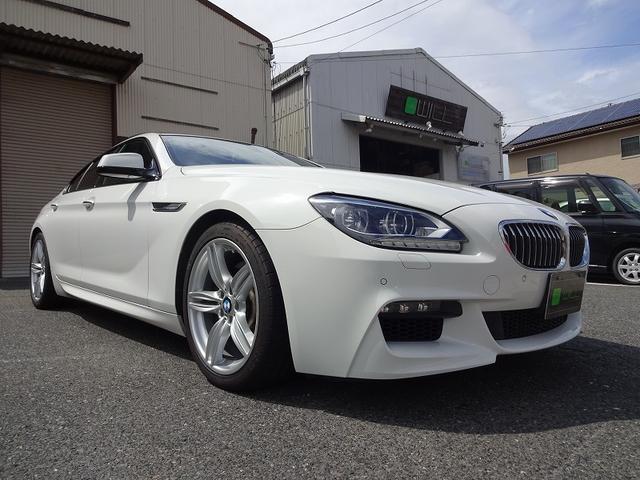 BMW BMW 640i グランクーペMスポ ガラスサンルーフ 茶革