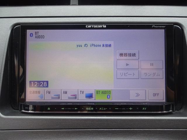 トヨタ プリウス Sツーリングセレクション カロッツェリアナビTV ETC