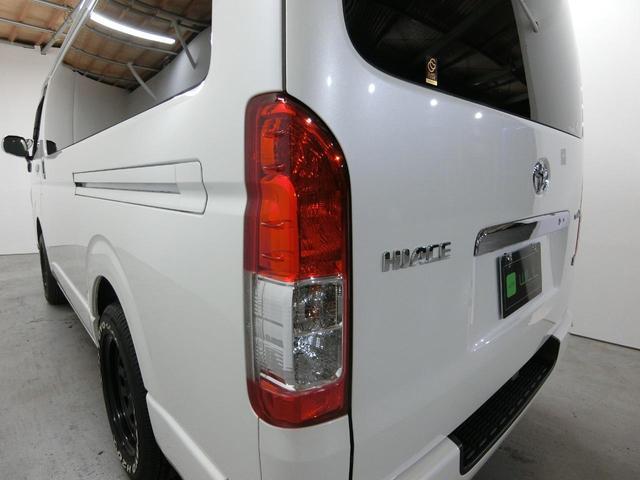スーパーGL 50TH アニバーサリーリミテッド 4WD トヨタセーフティーセンス 両側パワースライドドア ディーゼルターボ フルセグ付きSDナビ LEDヘッドライト スマートキー プッシュスタート ホワイトレタータイヤ ABS PS PW デイトナ(51枚目)