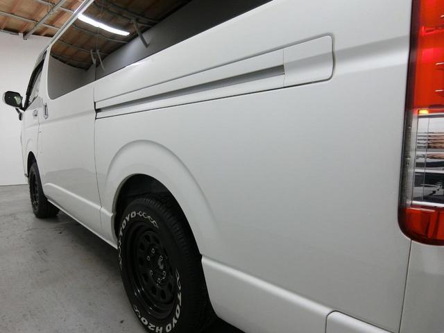 スーパーGL 50TH アニバーサリーリミテッド 4WD トヨタセーフティーセンス 両側パワースライドドア ディーゼルターボ フルセグ付きSDナビ LEDヘッドライト スマートキー プッシュスタート ホワイトレタータイヤ ABS PS PW デイトナ(53枚目)