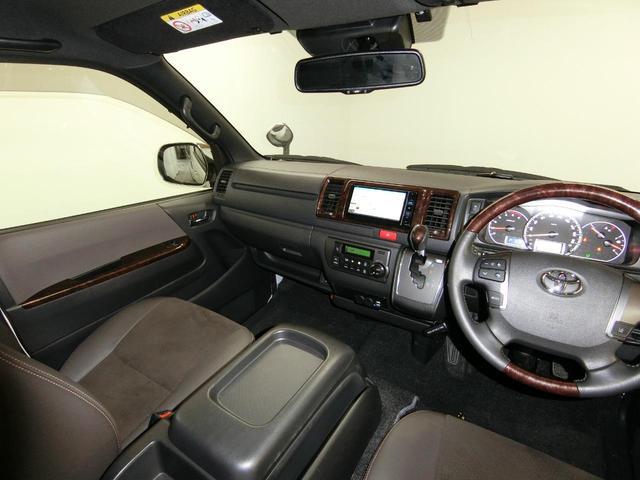 スーパーGL 50TH アニバーサリーリミテッド 4WD トヨタセーフティーセンス 両側パワースライドドア ディーゼルターボ フルセグ付きSDナビ LEDヘッドライト スマートキー プッシュスタート ホワイトレタータイヤ ABS PS PW デイトナ(59枚目)