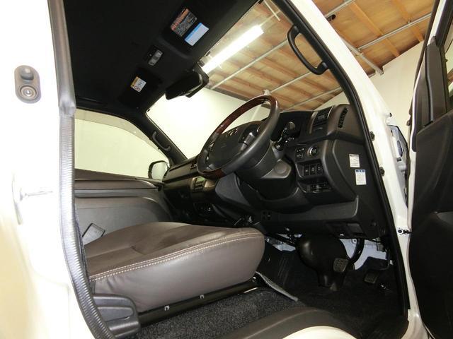 スーパーGL 50TH アニバーサリーリミテッド 4WD トヨタセーフティーセンス 両側パワースライドドア ディーゼルターボ フルセグ付きSDナビ LEDヘッドライト スマートキー プッシュスタート ホワイトレタータイヤ ABS PS PW デイトナ(61枚目)
