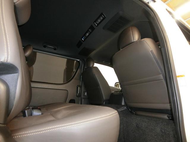 スーパーGL 50TH アニバーサリーリミテッド 4WD トヨタセーフティーセンス 両側パワースライドドア ディーゼルターボ フルセグ付きSDナビ LEDヘッドライト スマートキー プッシュスタート ホワイトレタータイヤ ABS PS PW デイトナ(76枚目)