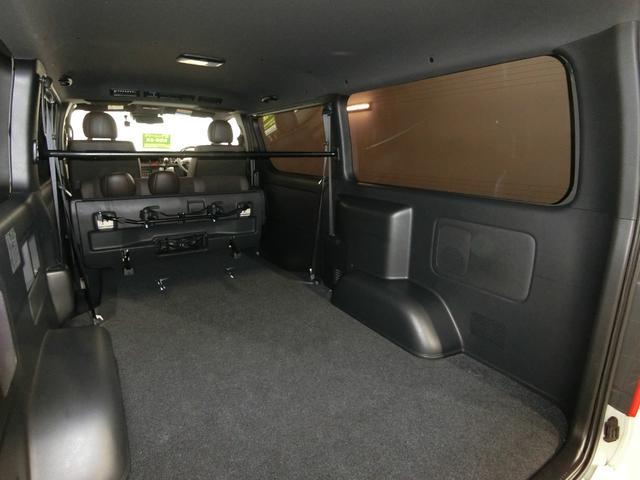 スーパーGL 50TH アニバーサリーリミテッド 4WD トヨタセーフティーセンス 両側パワースライドドア ディーゼルターボ フルセグ付きSDナビ LEDヘッドライト スマートキー プッシュスタート ホワイトレタータイヤ ABS PS PW デイトナ(79枚目)