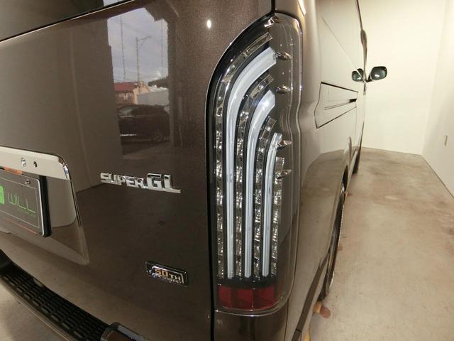 スーパーGL 50TH アニバーサリーリミテッド RAYS TE37SB ホワイトレターワンオーナー 禁煙車 ローダウン セーフティセンス 両側電動スライドドア Fフォグ  社外テール バックカメラ カロッツェリア8インチナビ  LEDヘッドライト(45枚目)