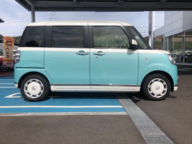 「ダイハツ」「ムーヴキャンバス」「コンパクトカー」「山口県」の中古車4