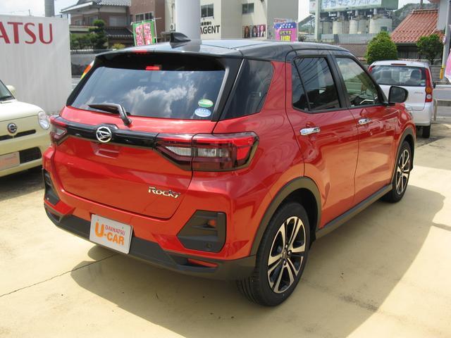 「ダイハツ」「ロッキー」「SUV・クロカン」「山口県」の中古車5