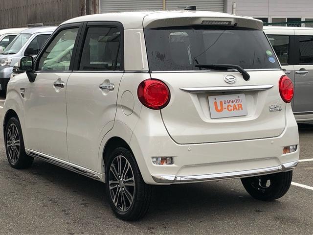「ダイハツ」「キャスト」「コンパクトカー」「山口県」の中古車4