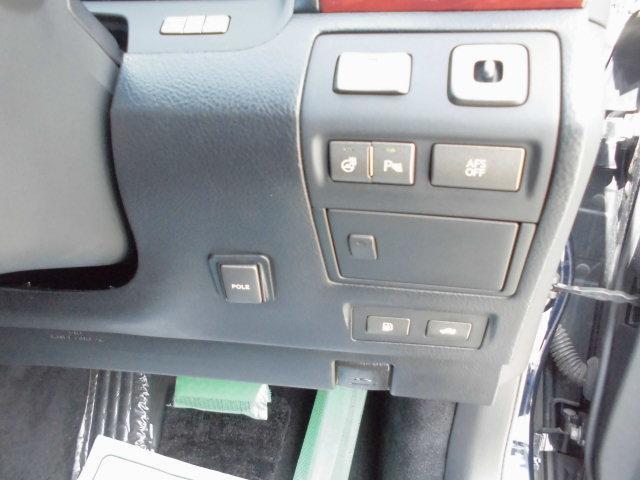 レクサス LS LS460 Iパッケージ 黒皮エアシート スマートキー