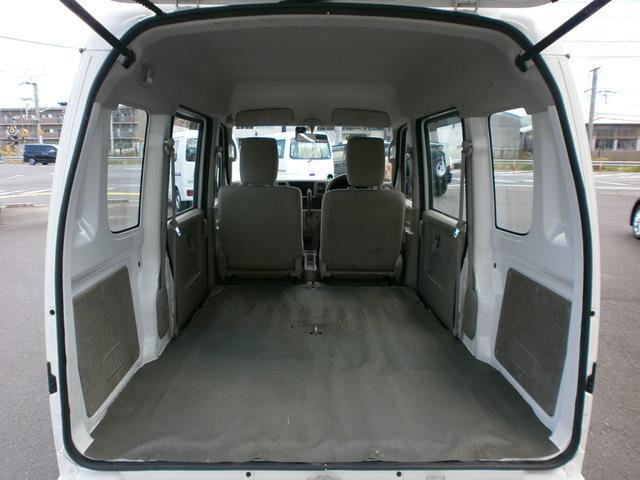 PU パートタイム4WD ABS インパネAT ハイルーフ 集中ドアロック(17枚目)