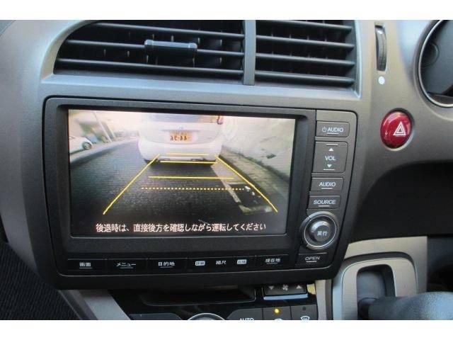 ホンダ ストリーム X特別仕様車 HDDナビエディション 地デジ バックカメラ