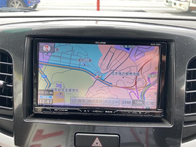 X バックカメラ ナビ オートライト HID Bluetooth ミュージックプレイヤー接続可 USB CD スマートキー アイドリングストップ 電動格納ミラー シートヒーター ベンチシート CVT(5枚目)