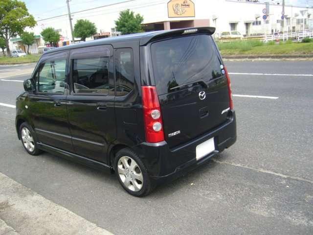 マツダ AZワゴン FX-Sスペシャル 純正エアロ アルミ ローダウン