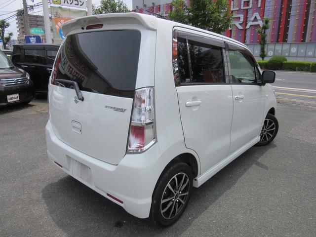 「スズキ」「ワゴンRスティングレー」「コンパクトカー」「鳥取県」の中古車6