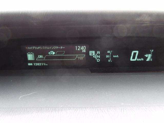 トヨタ プリウス L 地デジフルセグ 15インチAW スマートキー 1年保証