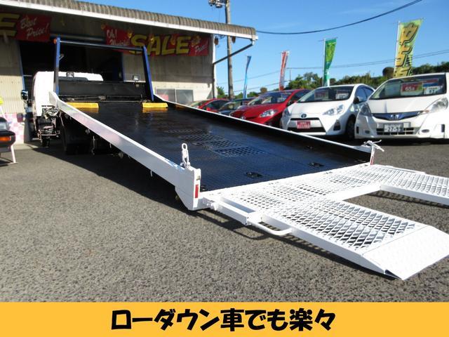 5.7mユニックキャリアカー 積載車 車輌運搬車(8枚目)