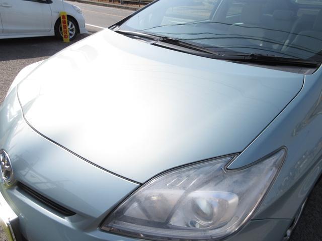 トヨタプリウス ハイブリット グレードS 中古岡山 中古プリウス 後期プリウス プリウス後期 無事故車 修復歴なし HID ETC スマートキー プッシュスタート オートエアコン 電格ミラー 人気車