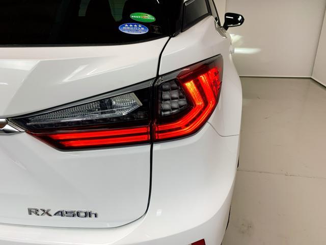 RX450h Fスポーツ レクサスRX450H ハイブリット Fスポーツ TRDフルエアロ TRD4本出しマフラー サンルーフ 赤レザー 赤革シート メモリーナビ Bluetooth プリクラッシュ LEDライト 高級SUV(50枚目)