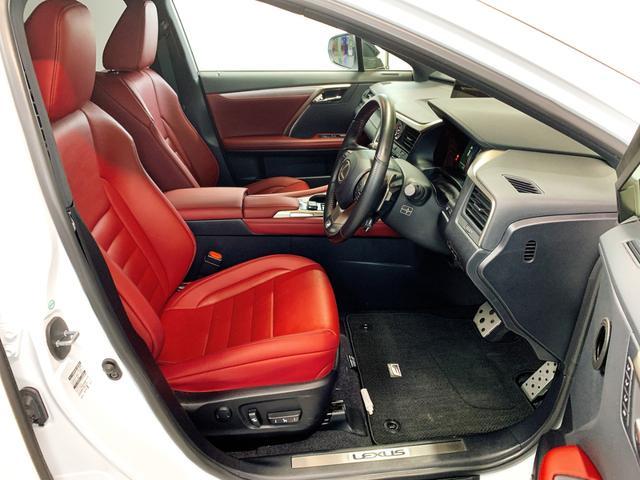 RX450h Fスポーツ レクサスRX450H ハイブリット Fスポーツ TRDフルエアロ TRD4本出しマフラー サンルーフ 赤レザー 赤革シート メモリーナビ Bluetooth プリクラッシュ LEDライト 高級SUV(52枚目)