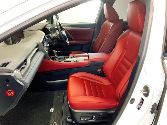 RX450h Fスポーツ レクサスRX450H ハイブリット Fスポーツ TRDフルエアロ TRD4本出しマフラー サンルーフ 赤レザー 赤革シート メモリーナビ Bluetooth プリクラッシュ LEDライト 高級SUV(57枚目)