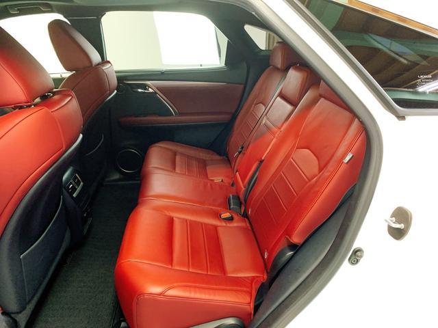 RX450h Fスポーツ レクサスRX450H ハイブリット Fスポーツ TRDフルエアロ TRD4本出しマフラー サンルーフ 赤レザー 赤革シート メモリーナビ Bluetooth プリクラッシュ LEDライト 高級SUV(59枚目)