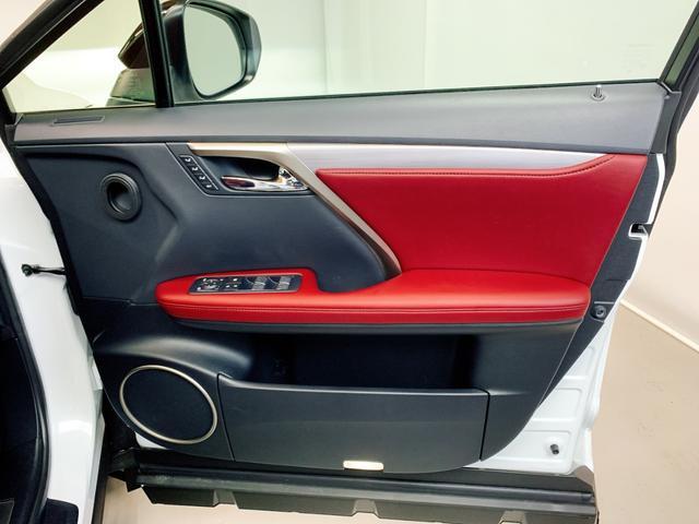RX450h Fスポーツ レクサスRX450H ハイブリット Fスポーツ TRDフルエアロ TRD4本出しマフラー サンルーフ 赤レザー 赤革シート メモリーナビ Bluetooth プリクラッシュ LEDライト 高級SUV(61枚目)