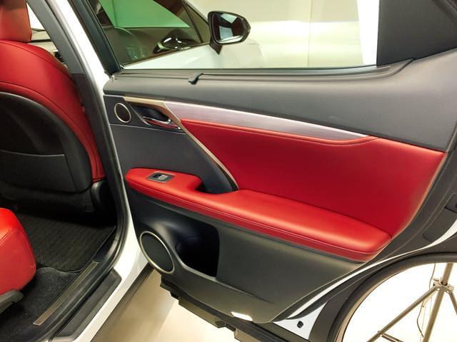 RX450h Fスポーツ レクサスRX450H ハイブリット Fスポーツ TRDフルエアロ TRD4本出しマフラー サンルーフ 赤レザー 赤革シート メモリーナビ Bluetooth プリクラッシュ LEDライト 高級SUV(63枚目)