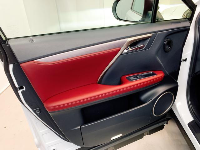 RX450h Fスポーツ レクサスRX450H ハイブリット Fスポーツ TRDフルエアロ TRD4本出しマフラー サンルーフ 赤レザー 赤革シート メモリーナビ Bluetooth プリクラッシュ LEDライト 高級SUV(64枚目)