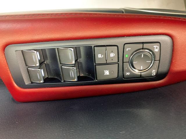 RX450h Fスポーツ レクサスRX450H ハイブリット Fスポーツ TRDフルエアロ TRD4本出しマフラー サンルーフ 赤レザー 赤革シート メモリーナビ Bluetooth プリクラッシュ LEDライト 高級SUV(68枚目)