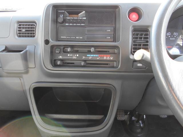 ツインカムスペシャル 4WD切り替え付き PS AC 車検R4年2月(16枚目)