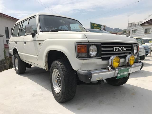 「トヨタ」「ランドクルーザー60」「SUV・クロカン」「広島県」の中古車3