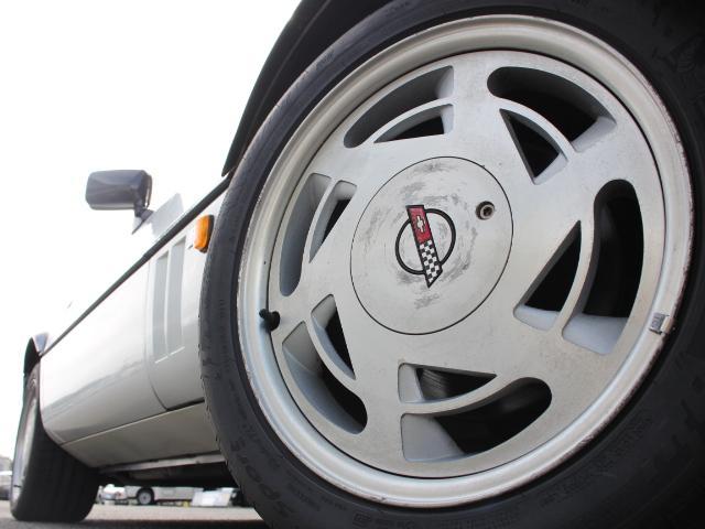 シボレー シボレー コルベット コンバーチブル ディーラー車 革シート クルーズコントロール