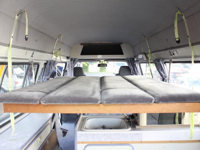 トヨタ ハイエースバン バンテックオリジナルキャンピングカー 電子レンジ オーニング