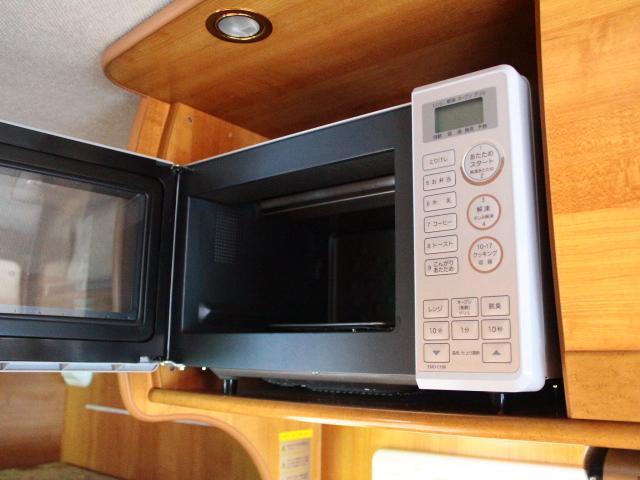 バンテック ジル520 常設2段ベット ツインサブバッテリー 走行充電 コンバーター 1500Wインバーター FFヒーター 冷蔵庫 ルーフベント 電子レンジ サイドオーニング ワンオーナー ナビ(7枚目)