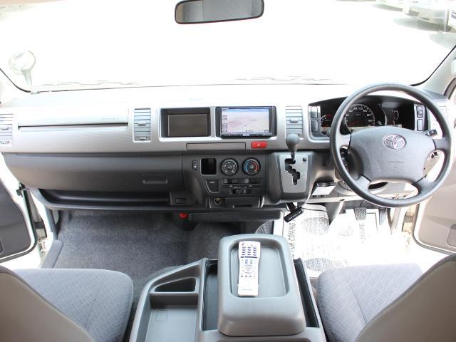 トヨタ ハイエースバン デルタリンク キャンピング ワンオーナー ウィンドエアコン