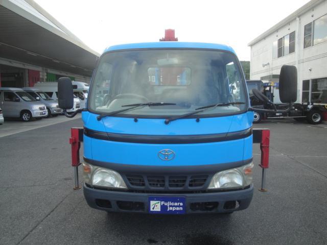 トヨタ ダイナトラック クレーン3段 ラジコン 積載2000Kg
